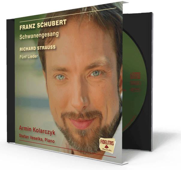 Franz Schuberts Schwanengesang gesungen von Armin Kolarczyk