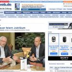 Artikel über Feierlichkeiten 100 Jahre Freimaurer in Dessau