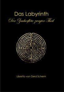"""Buchumschlag """"Das Labyrinth"""""""