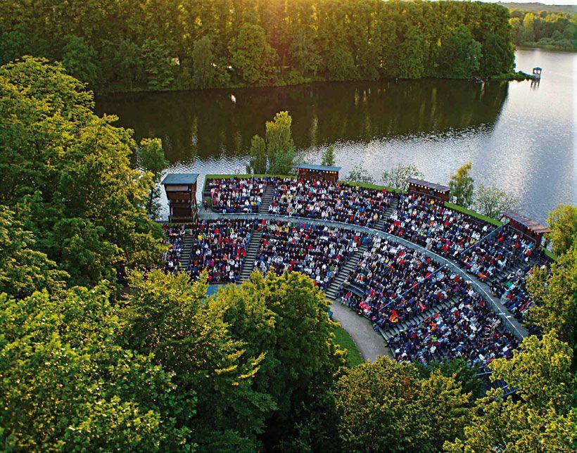 Die Seebühne der Festspiele Eutin. Foto: Torben Junge