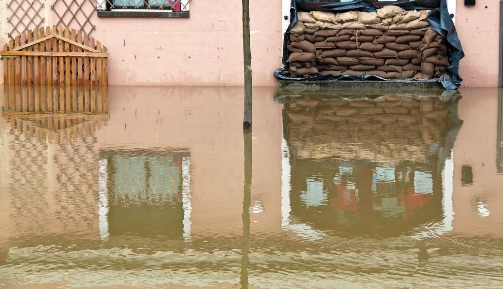 Überschwemmung in Passau