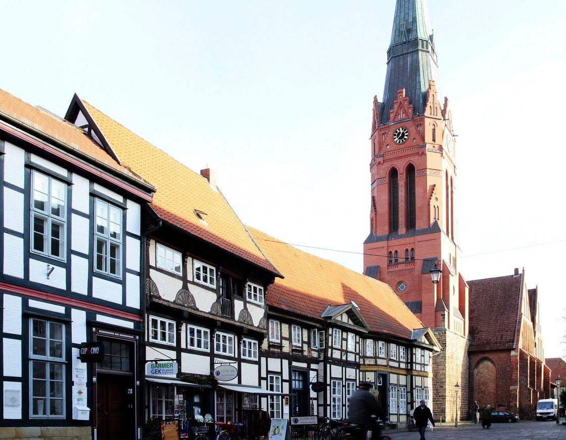 Fachwerkzeile in Nienburg/Weser