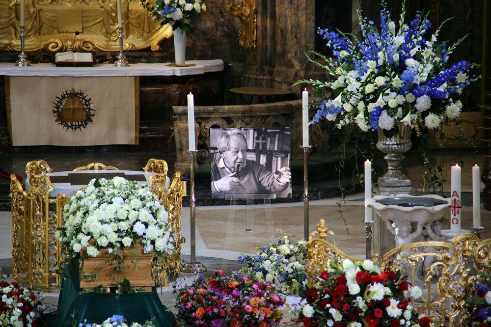 Trauerfeier für Siegfried Lenz im Hamburger Michel (Foto: Daniel Posselt/Hamburgische Bürgerschaft)