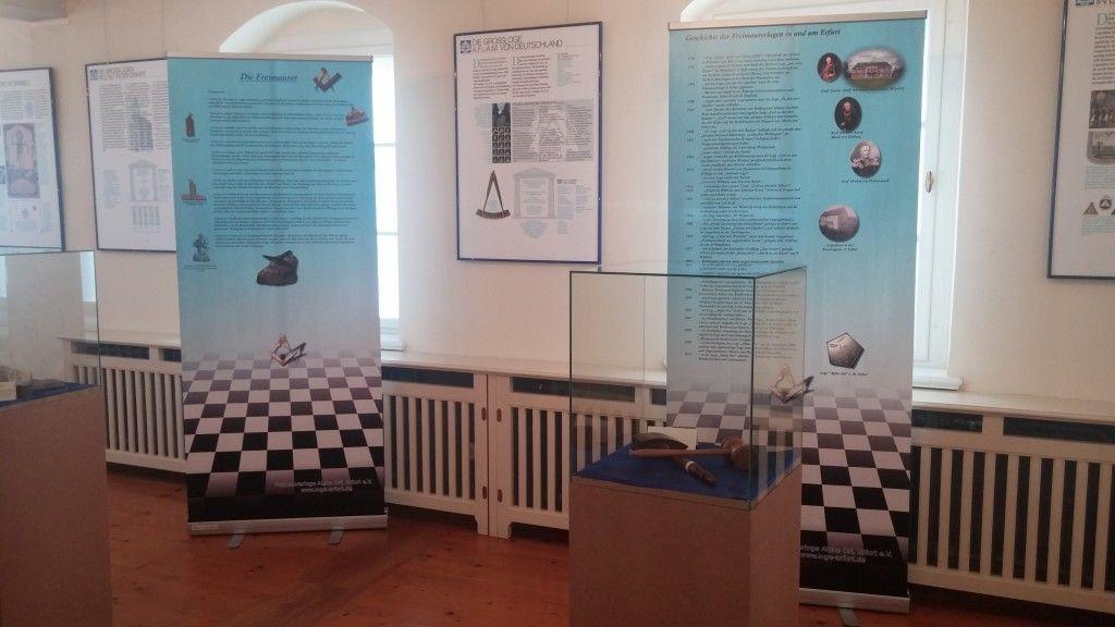 Ausstellung im Schloss Moldorf bei Erfurt