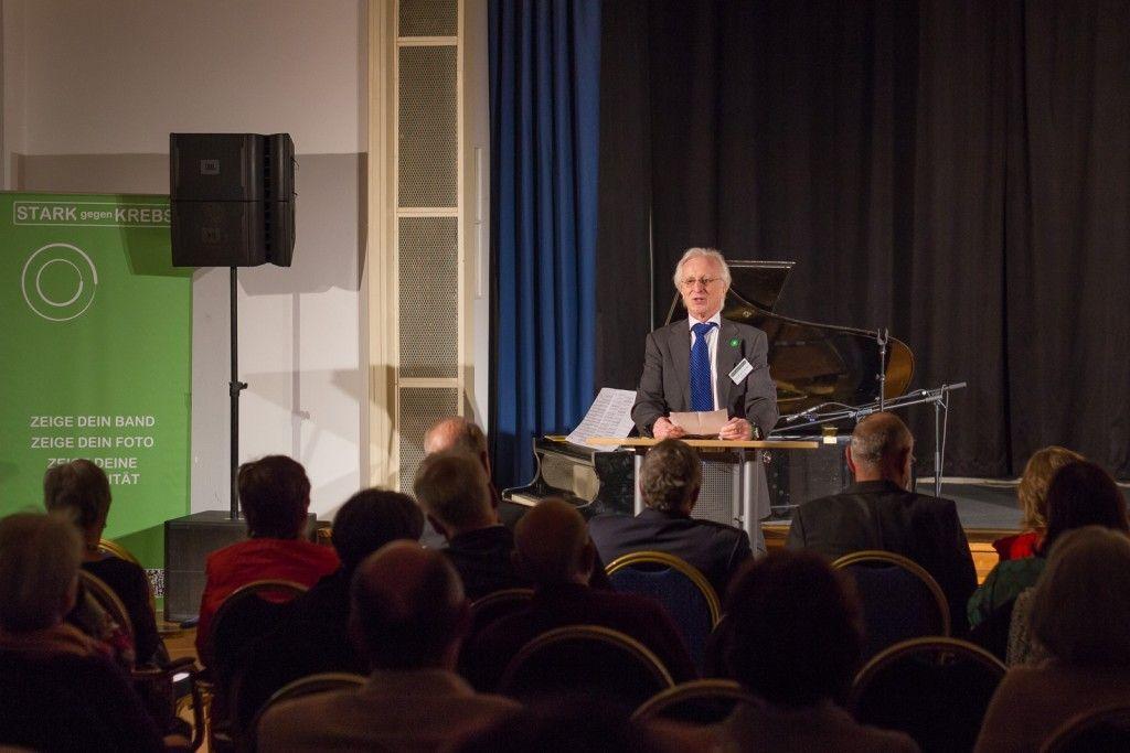 Dr. Bernd Schmude, Vorsitzender des Vereins