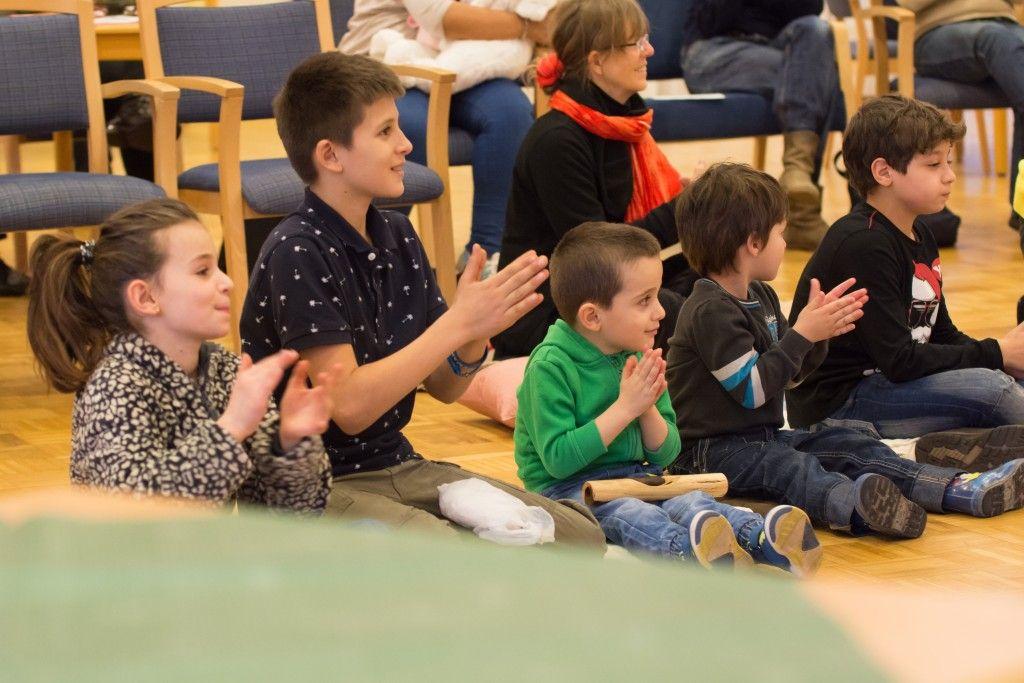 Konzert für Flüchtlingskinder in Hamburg (Foto: Johannes Beschoner)