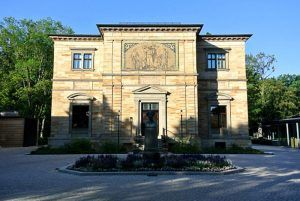 Vorderseite der Wagner-Villa