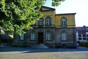 Das Logenhaus mit Freimaurermuseum