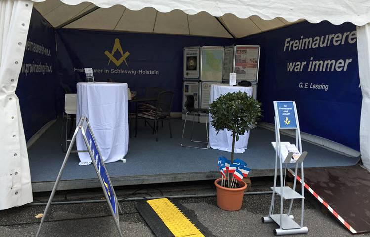 Stand der Freimaurer des Distriktes Schleswig-Holstein / Mecklenburg-Vorpommern