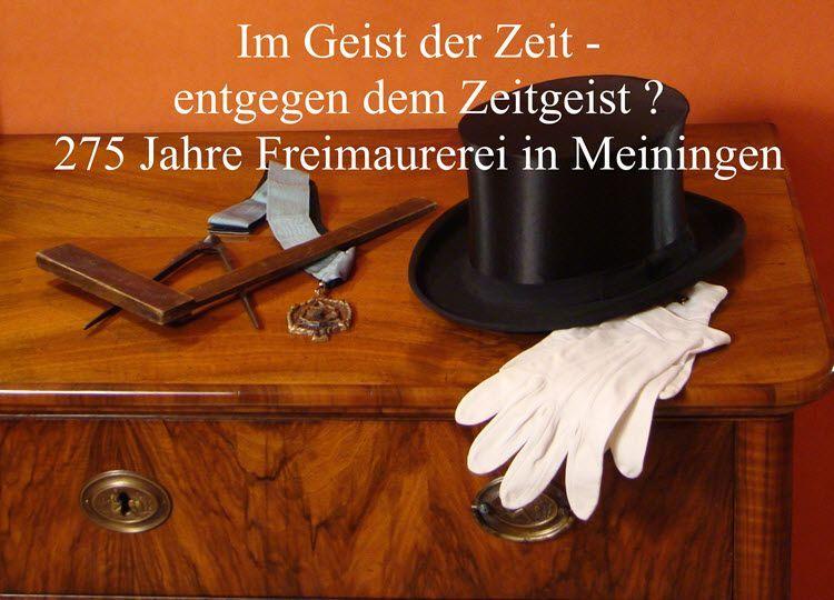 275 Jahre Freimaurerei in Meiningen