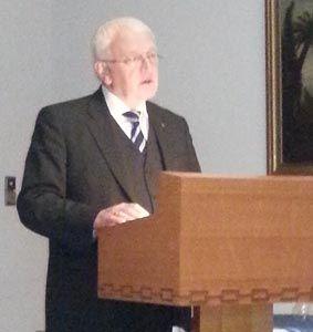 Friedrich Dodo de Boer, Vorsitzender der Loge