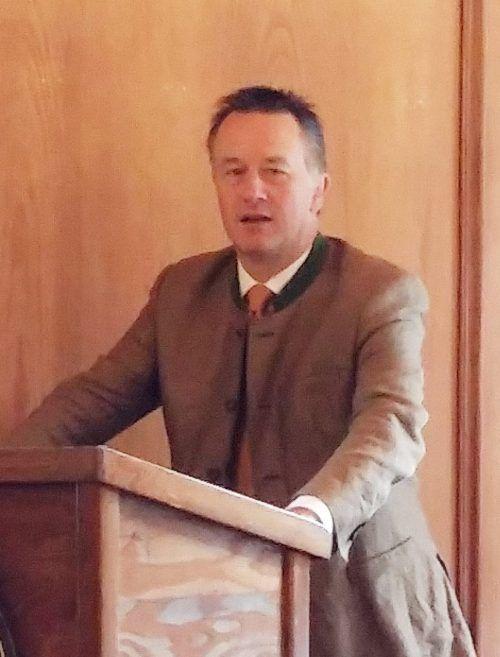Oberbürgermeister Dr. Herbert Lackner hielt das Grußwort
