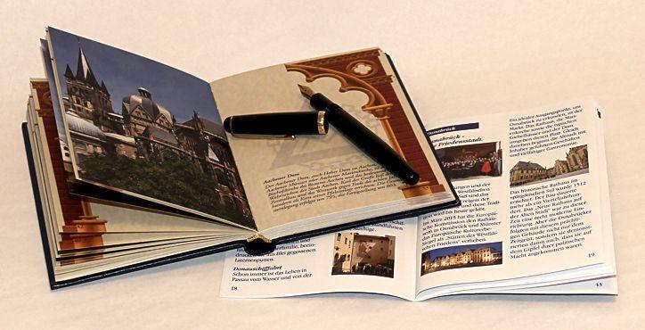 Das persönliche Reisetagebuch mit Begleitheft
