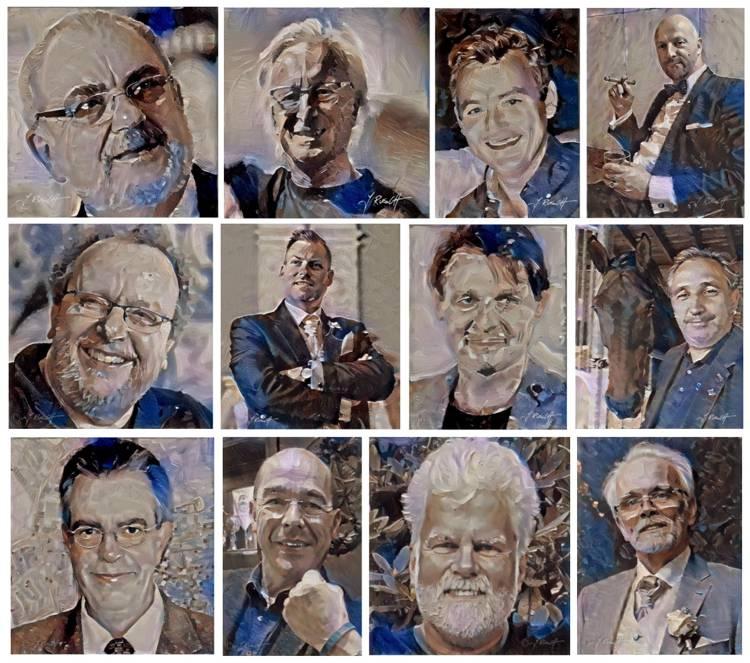 Wer für das Freimaurer-Wiki spendet, bekommt auf Wunsch ein Portrait im Stil eines Ölbildes