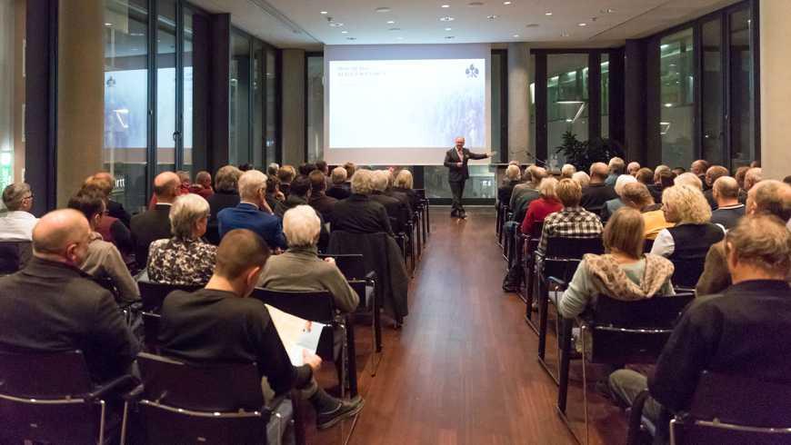 """Über 80 Besucher lauschten und diskutierten in """"Ulms Neuer Mitte"""""""