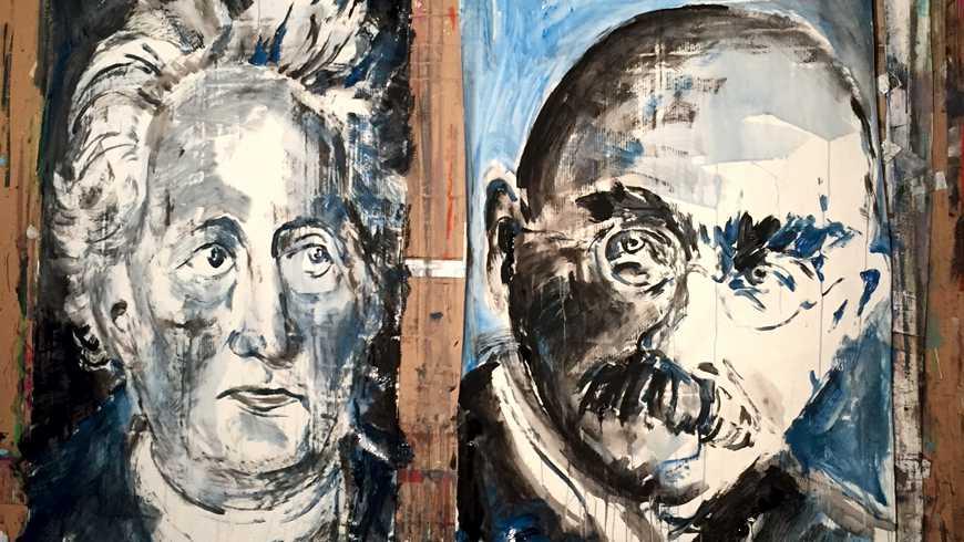 Johann Wolfgang von Goethe und Rudyard Kipling, gemalt vom Österreicher Oskar Stocker: zwei von neunzig Dichtern, die der Wiener Kulturjournalist Heinz Sichrovsky in einem erstaunlichen 600-Seiten-Buch versammelt hat. Was die Neunzig verbindet? Alle waren Freimaurer!