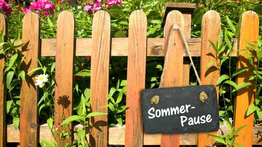 Sommerpause (fotolia / VRD)