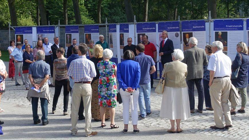 Ausstellungseröffnung in Bayreuth