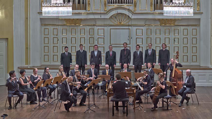 """Salzburger Hofmusik"" mit ihrem Dirigenten Wolfgang Brunner"