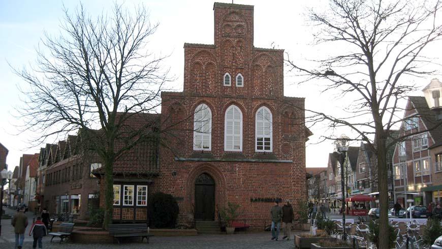 Das Rathaus in Wildeshausen