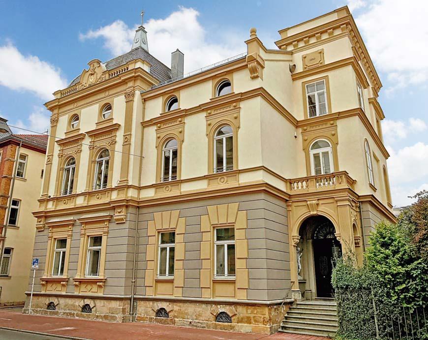 Das Bamberger Logenhaus in voller Pracht