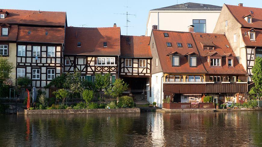 """Stadtteil """"Klein-Venedig"""", bestehens aus alten Schiffer- und Fischerhäusern"""
