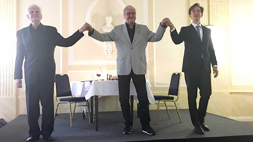 Von links: Eberhard Panne, Jens Oberheide, Marek Kalbus