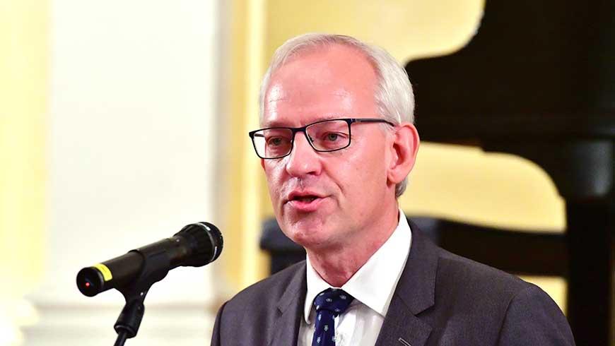 Distriktmeister Thomas Stuwe