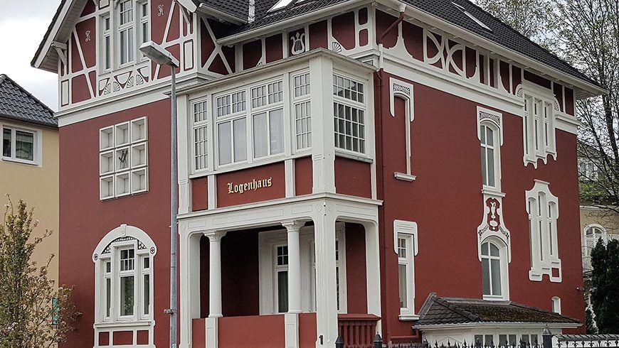 Das Logenhaus in Stade