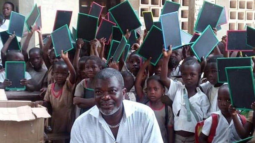 Br. Bonito de Souza engagiert sich für Bildung in Togo