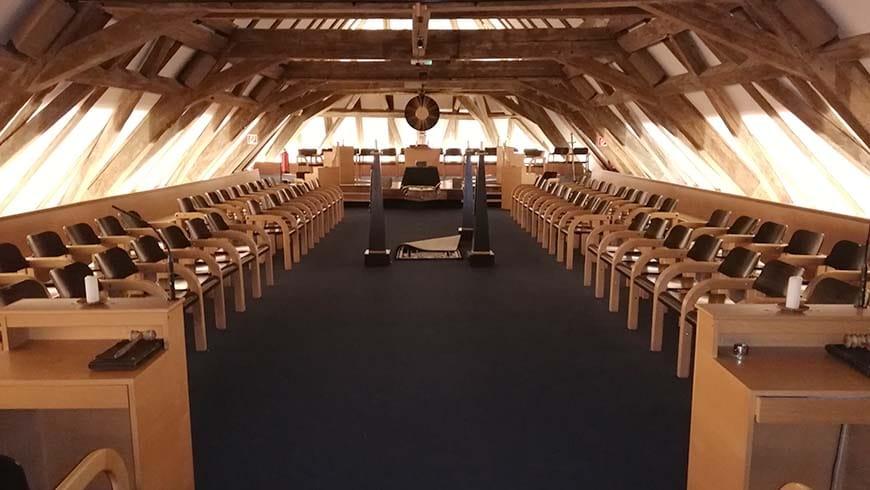 Ritualraum der Wiener Logen