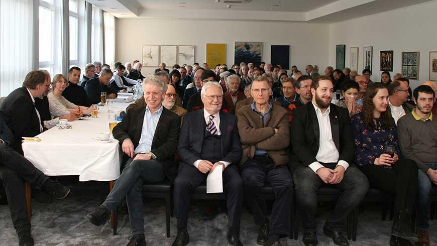 Teilnehmer des 8. Münchner Kolloquiums der Loge