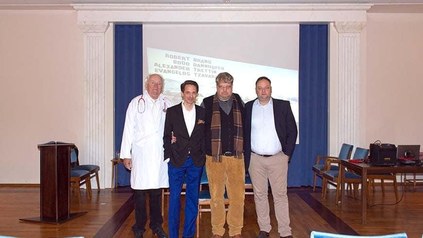 Robert Brand, Bodo Dannhöfer, Alexander Trettin, Evangelos Tzavaras (v.l.n.r.)