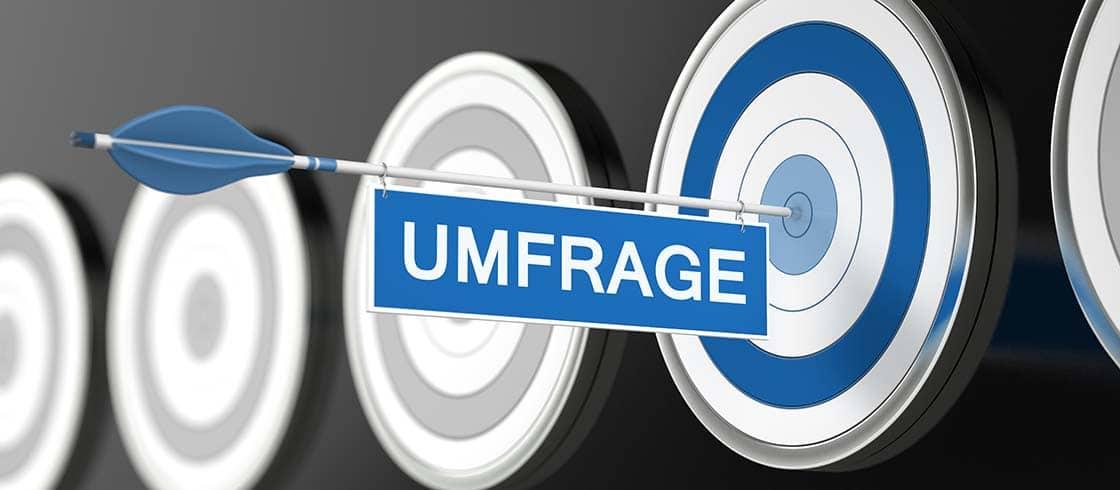 UMFRAGE / Zielscheibe