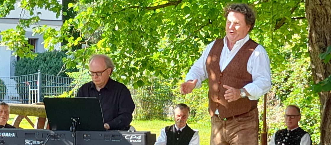 Bild Liederfest Unternzenn 18.07.2021