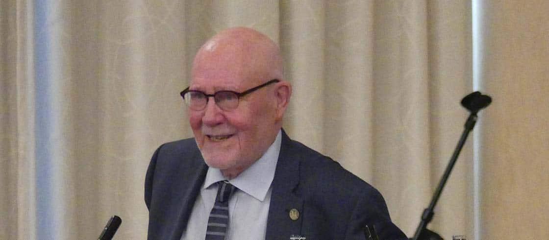 Hans-Hermann Höhmann beim Großlogentreffen in Dresden 2017