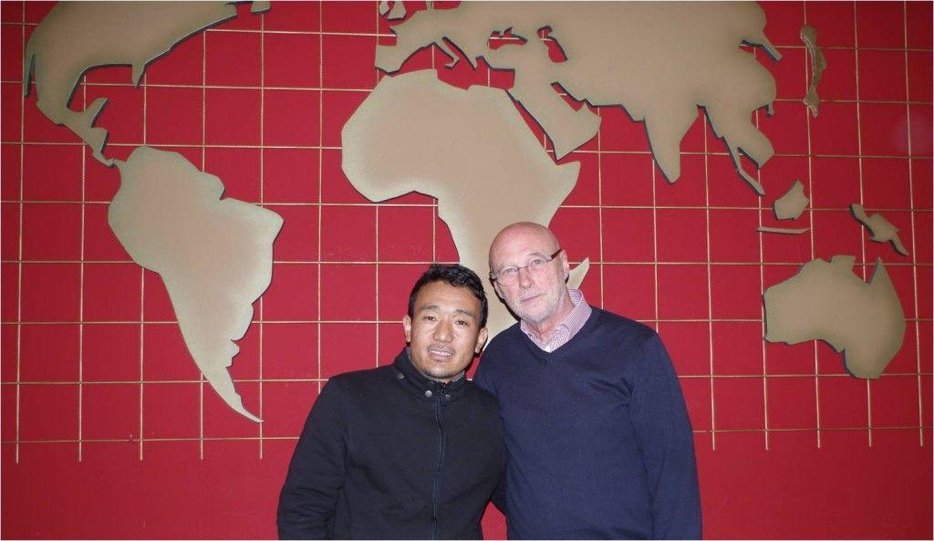 Sonam Sherpa und Dr. Walter-Staaden